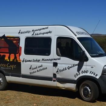 Noord-Kaap Natuur Akademie bussie
